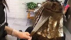 Balayage on Virgin Hair || Hair Tutorial
