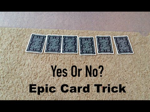 Yes Or No Card Trick Revealed