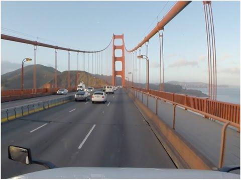 Famosa Ponte de São Francisco - Golden Gate Bridge - Vlog18rodas - EP07/16