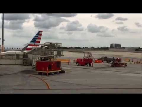 Busy Miami Airport To The New Nassau Bahamas Airport