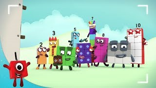 Numberblocks   Number Party  Learn to Count  Learning Blocks