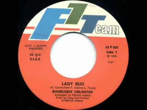 70s Disco music  BumbleBee Unlimited  Lady Bug 1978