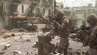 Tank Escort Mission - Modern Warfare Remastered