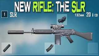 PUBG MOBILE LATEST UPDATE REVIEW | New SLR Sniper Rifle & CLANS in Pubg | Wow 1.6GB Huge Update