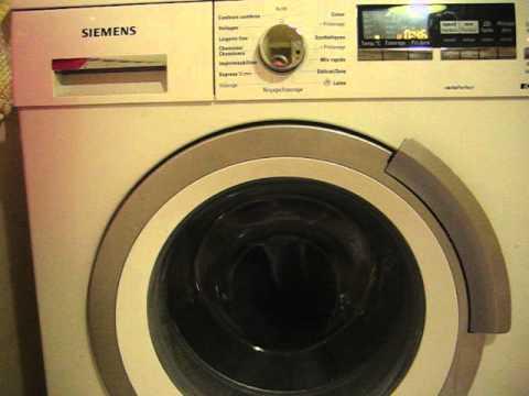 lave linge bruit intermittent pendant le lavage video2 youtube. Black Bedroom Furniture Sets. Home Design Ideas