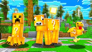 MINECRAFT But All MOBS Are LUCKY BLOCKS!
