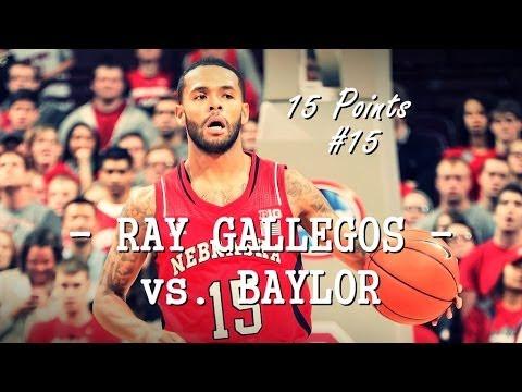 Ray Gallegos vs. Baylor scores 15