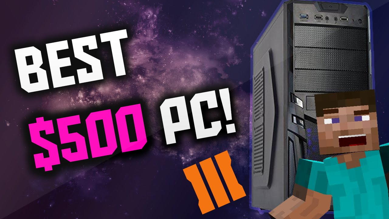 how to build a gaming pc for under 500 500 gaming pc build 2016