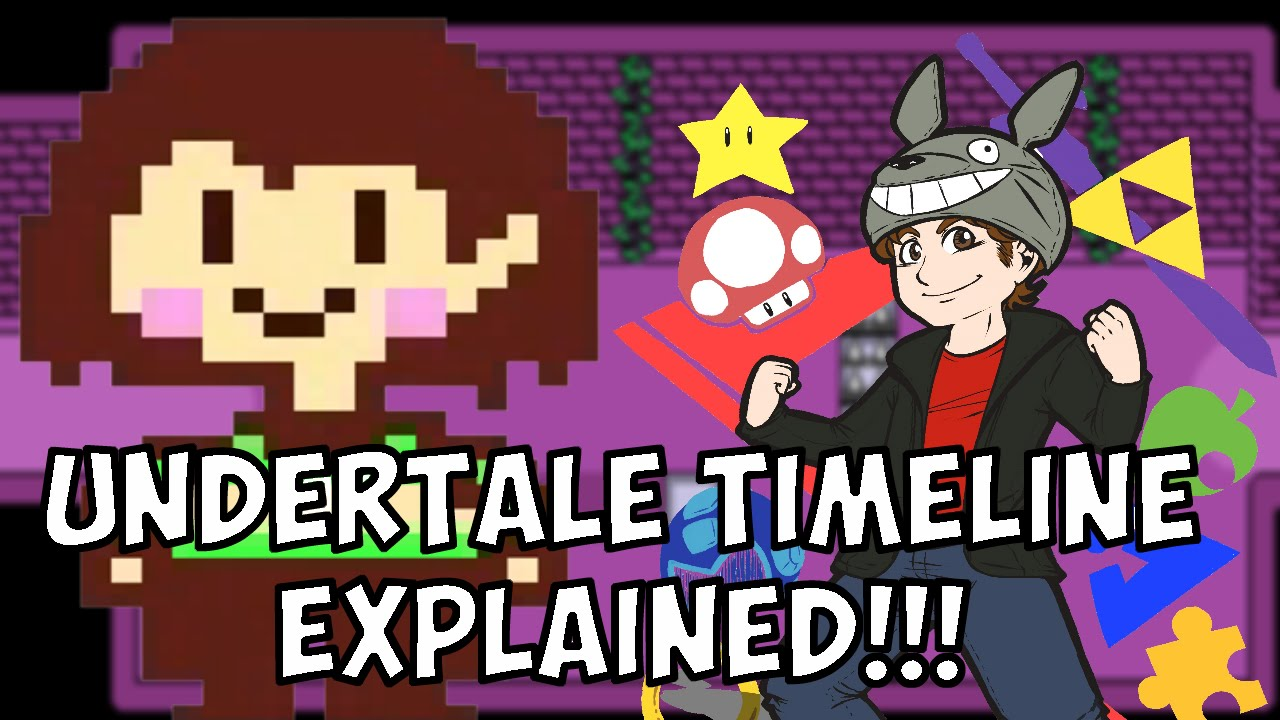 UNDERTALE Timeline(s) and Story EXPLAINED!!! - Terracorrupt - YouTube