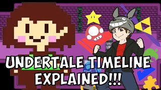 UNDERTALE Timeline(s) and Story EXPLAINED!!! - Terracorrupt