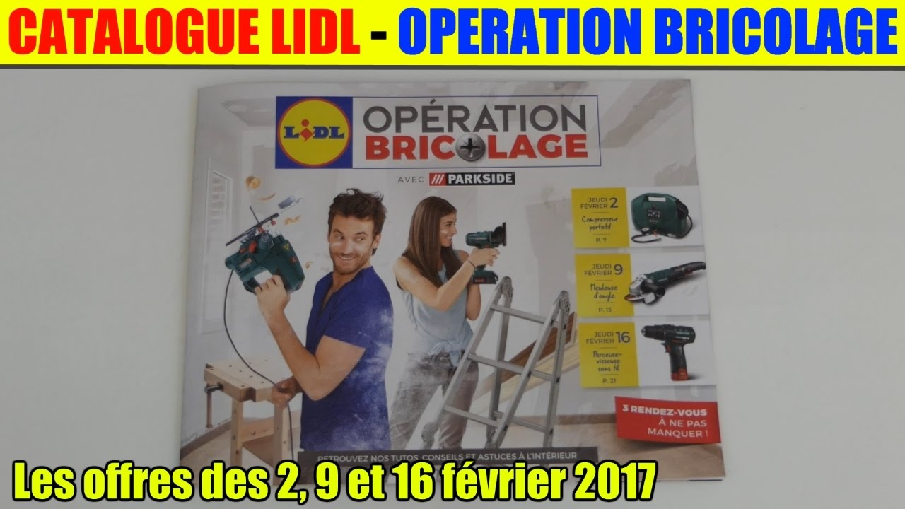 catalogue lidl operation bricolage les offres des 2 9 et. Black Bedroom Furniture Sets. Home Design Ideas