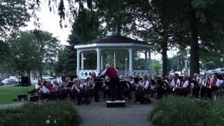 Cha Cha for Band - Canfield Village Green Concert, August 2014