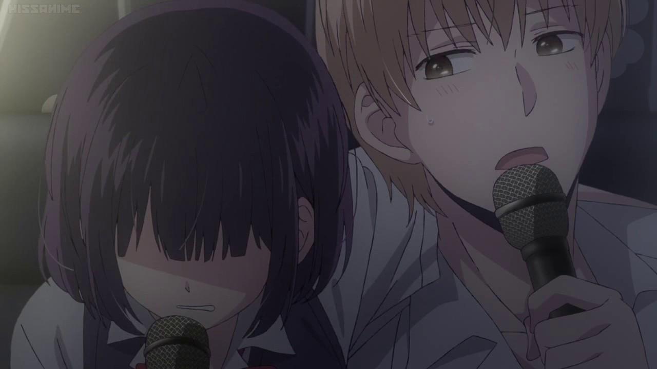 Kuzu no Honkai episode 2(karaoke scene)