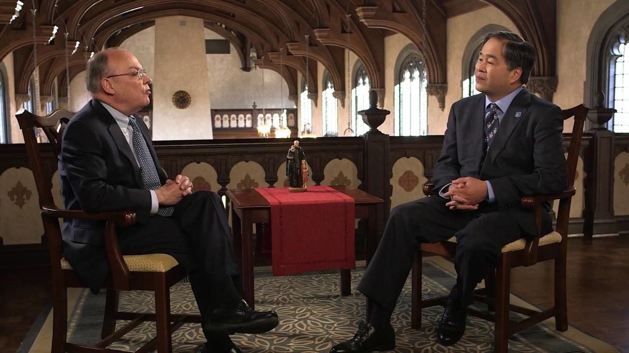 9c332e949d3 A Conversation with Dr. Gabriel Esteban, DePaul's 12th president - YouTube