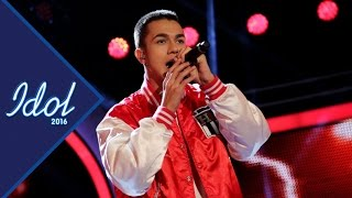 Liam Cacatian Thomassen sjunger Ready or not i Idol 2016 - Idol Sverige (TV4)