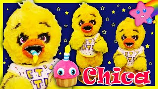 How To Make A Chica Baby Alive Doll - Five Nights at Freddy's Art Doll Repaint and Makeover