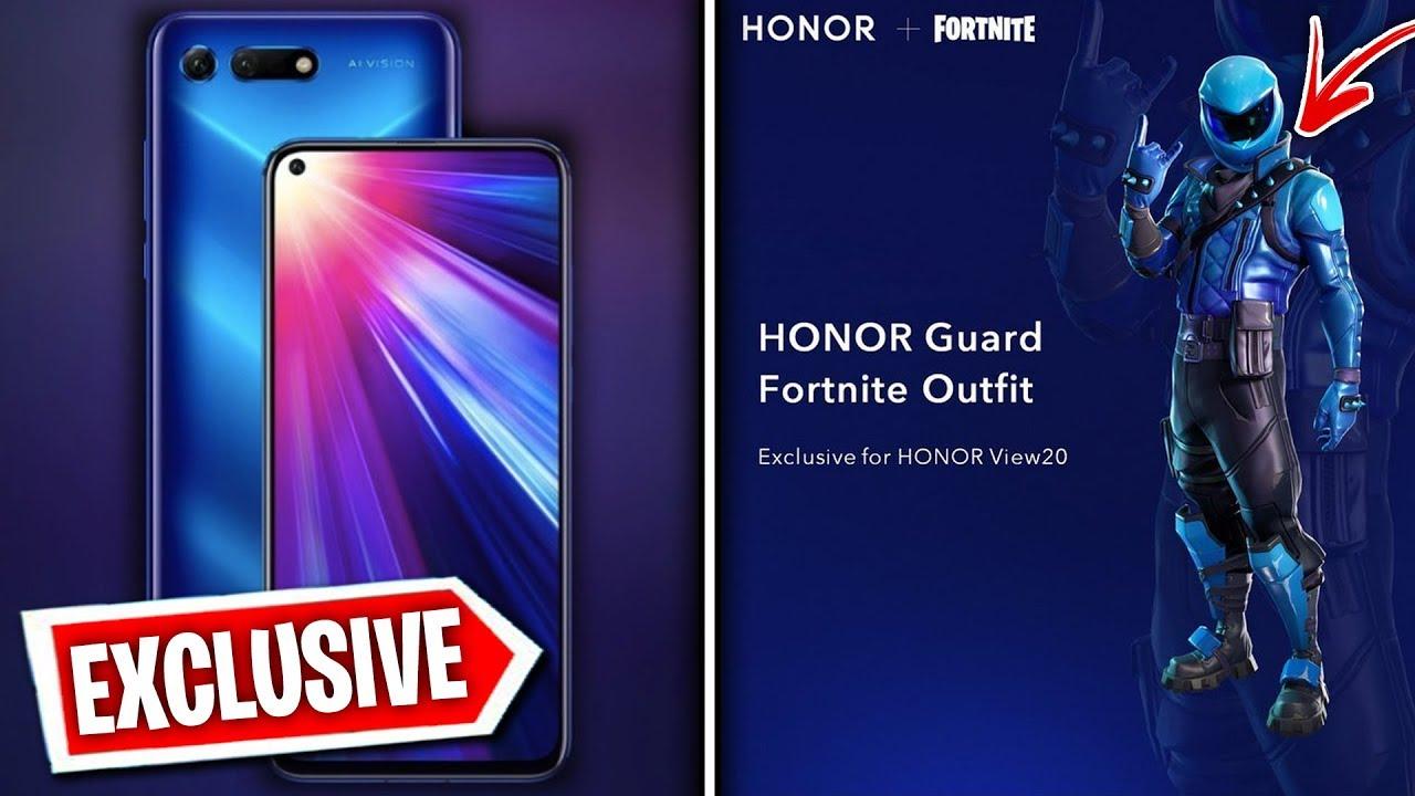 Fortnite honor skin phone
