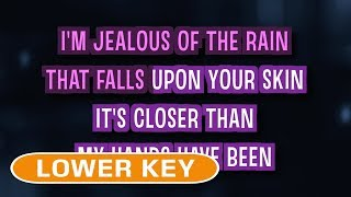 Jealous (Karaoke Lower Key) - Labrinth