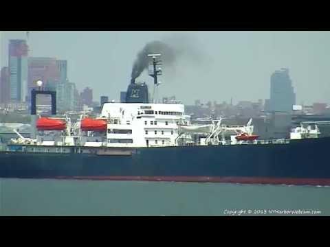 TS EMPIRE STATE VI Departs New York Harbor 05-13-2013