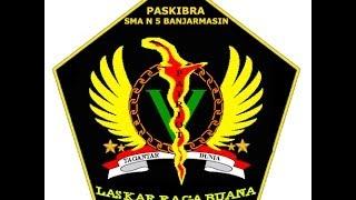 Laskar Raga Buana (Paskibra SMA Negeri 5 Banjarmasin) - LKBB di SMA Negeri 3 Banjarmasin.