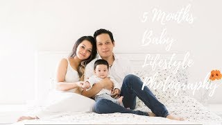 5 Months Baby Photos with Bailey Babies Photography : Baby Rio