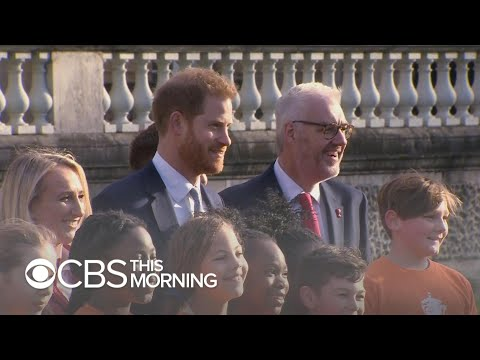 Prince Harry makes public appearance amid royal family rift