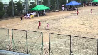 2013/8/24 高校サッカー大阪大会 1回戦 花園高校 vs 信太高校(前半)