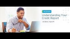 Webinar | Understanding Your Credit Report