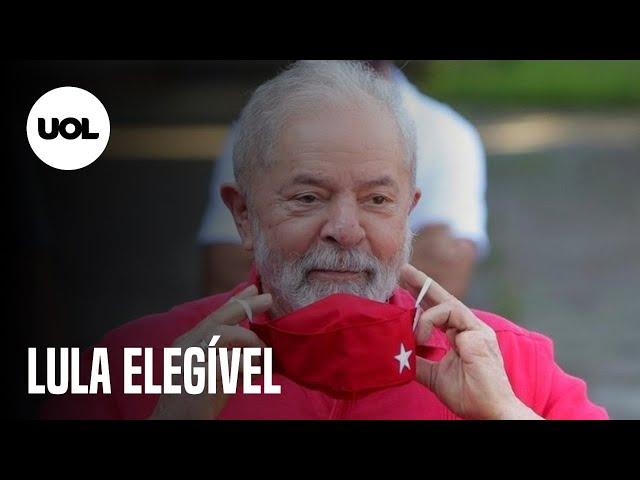 Lula fala sobre condenações anuladas na Lava Jato e estar elegível para 2022
