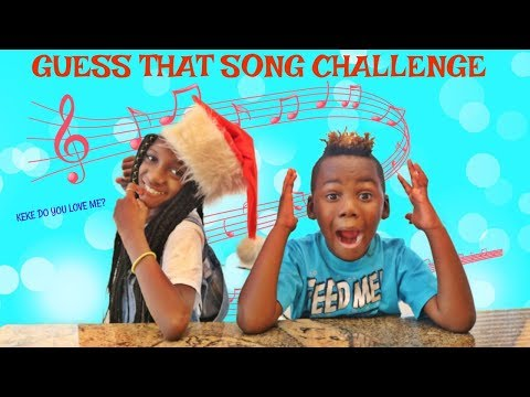 Yaya and DJ Try To Guess That Song Challenge
