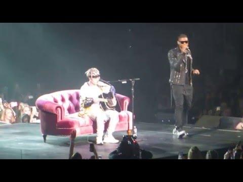 Justin Bieber & Usher- U Got It Bad Live Purpose Tour Atlanta Day 2 4/13/2016