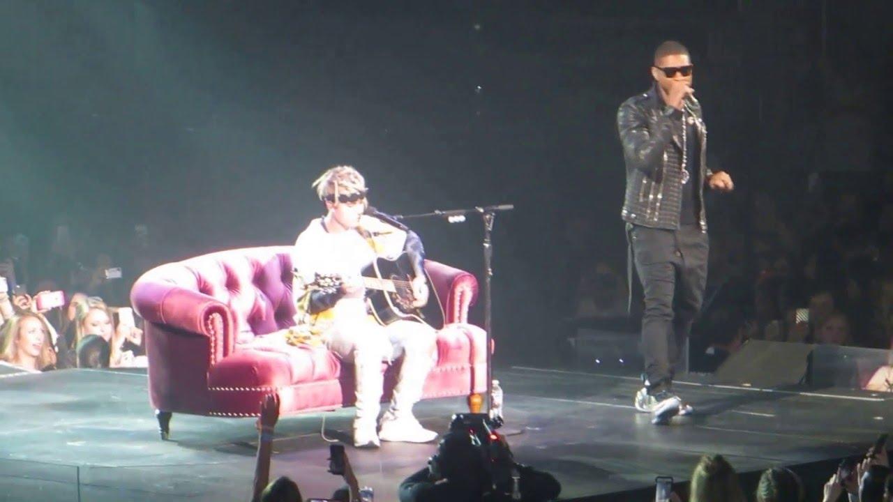 Justin Bieber & Usher- U Got It Bad Live Purpose Tour