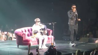Justin Bieber & Usher- U Got It Bad Live Purpose Tour Atlanta Day 2 4/13/2016