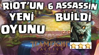 LoL'ün Yeni Oyunu - Taktik Savaşları - 6 Assassin Build !! Video