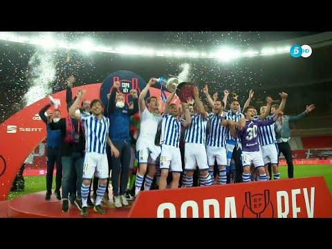 La Real Sociedad levanta el titulo de campeón de la Copa del Rey 19/20