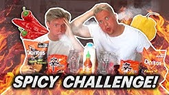 SPICY FOOD CHALLENGE VS DAAN VAN MARKUS