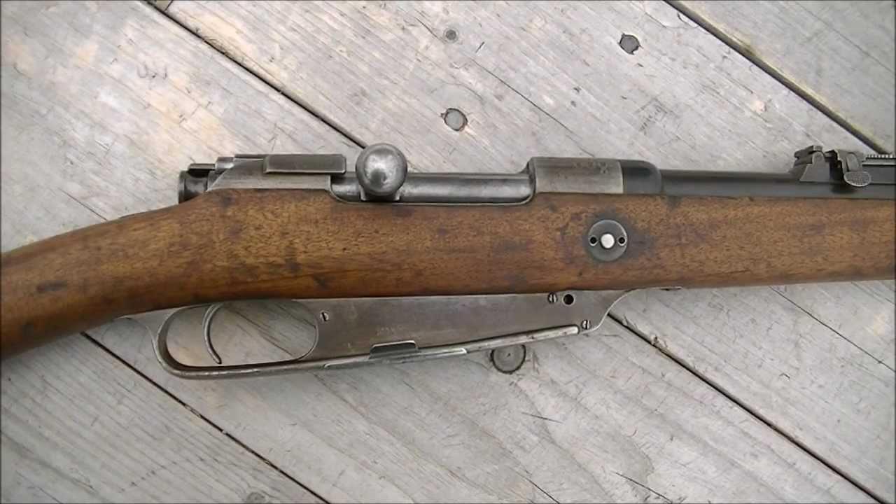 German 1888/05 Commission Rifle (Gewehr 88) - YouTube