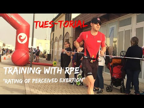Training with RPE (Rating of Perceived Exertion) Triathlon Training