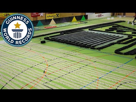 Thumbnail: Epic domino show - Guinness World Records