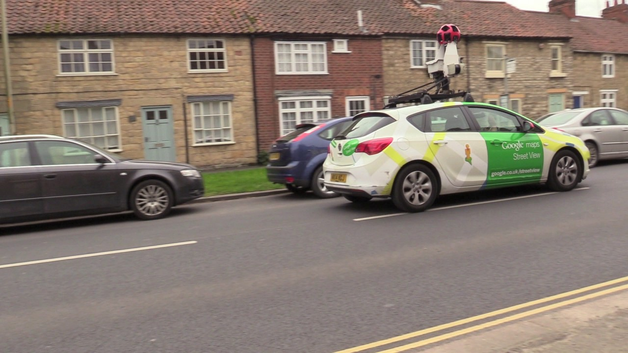 Google Maps and Street View Camera Car on google earth camera car, google street view car, maps car with camera,