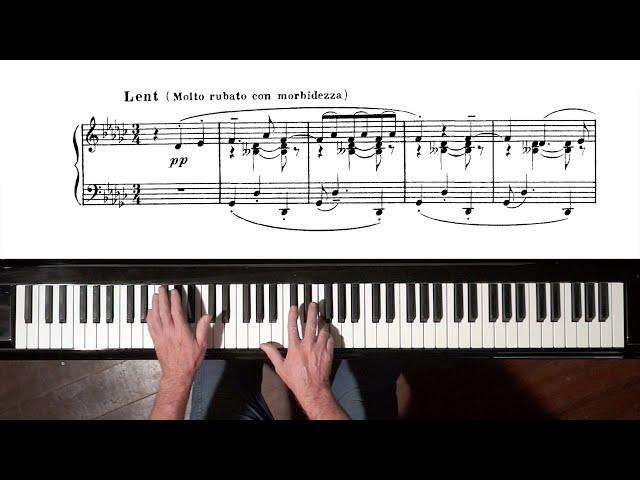 """Debussy """"La plus que lente"""" Paul Barton, FEURICH piano"""