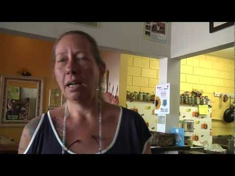 Ms. Julie cooks up new location, garden