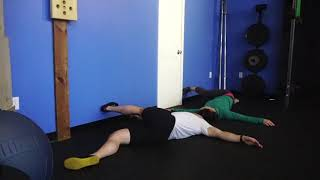 [HIPS - Flexibility] Lying Glute Crossover Stretch