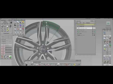 Autodesk Alias Alloy Wheel Video Tutorial/Walkthrough