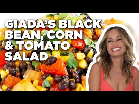How to Make Giada's Black Bean, Corn and Tomato Salad | Food Network