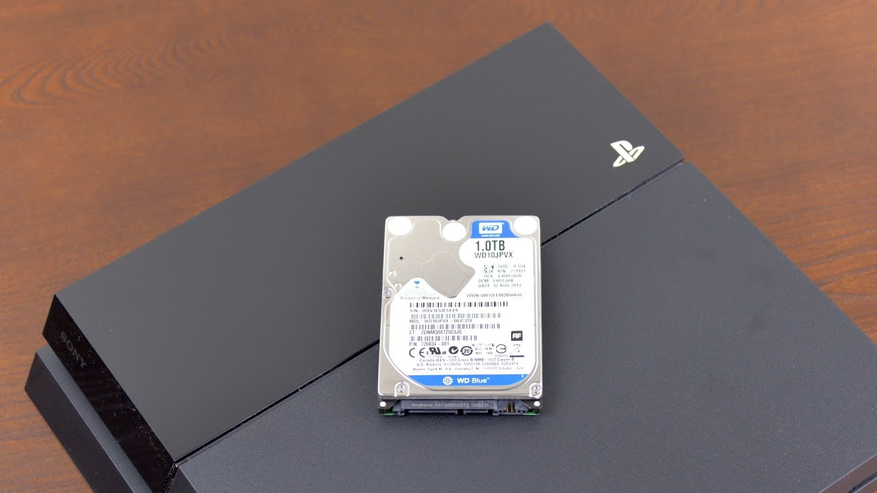 How To Upgrade A Ps4 Hard Drive Ssd Youtube