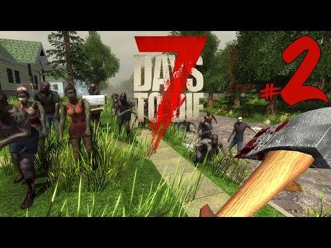 7 Days To Die #2. Пособие: КАК РАЗЖЕЧЬ КОСТЕР. Совместное прохождение.