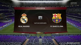 FIFA 15 - Gameplay - Real Madrid VS Barcelona - El Clasico  - Xbox One [ HD ]