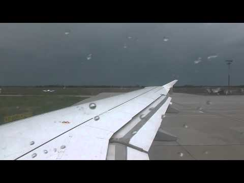 """Germanwings A319-112 """"D-AKNS"""" Pushback,Safety Instructions and Takeoff from Bremen"""