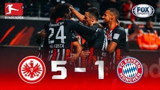 Eintracht Frankfurt - Bayern Múnich [5-1] | GOLES | Jornada 10